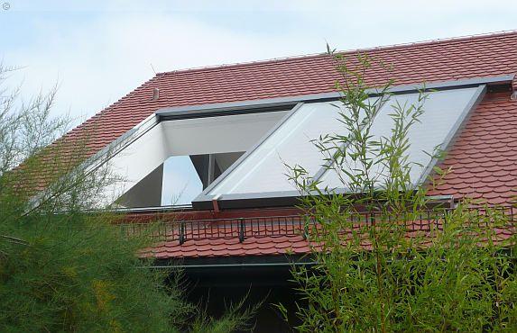 Dachflächenfenster / Schiebefenster