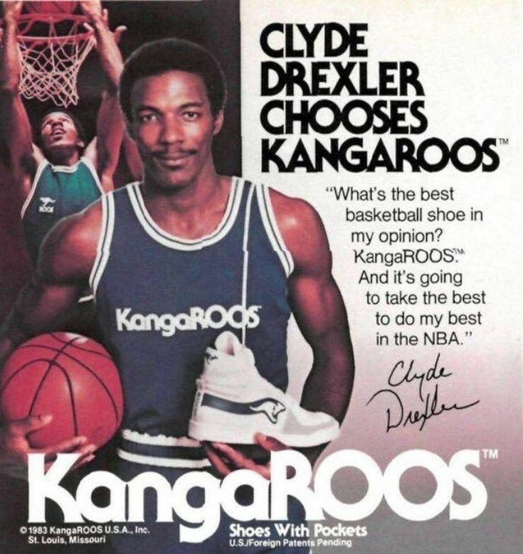 Pin By Linwood Dubose On Drexler Clyde Drexler Best Basketball Shoes Basketball