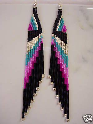 Beautiful+Native+American+Beaded+Turquoise+by+BeadedCreationsetc