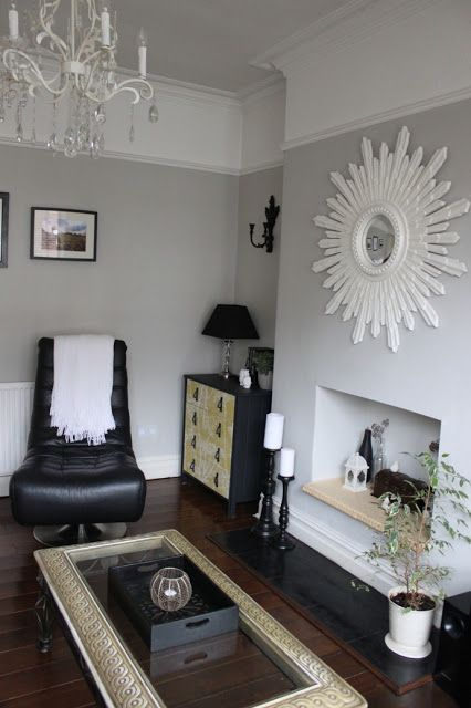 Dulux Dusted Moss 2  Lounge room