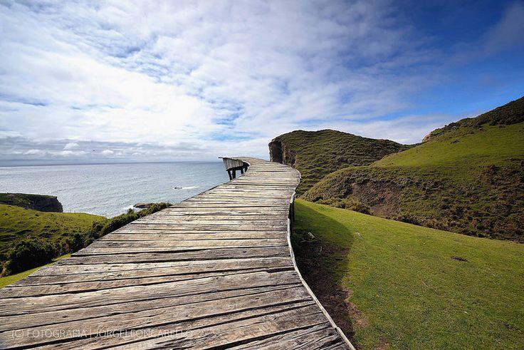 Muelle del Alma - Punta Pirulil (Isla de Chiloe)