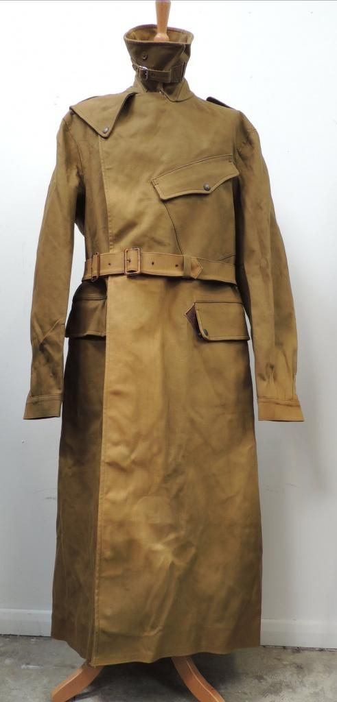 Ww2 british army despatch riders coat - militarytrader.co.uk
