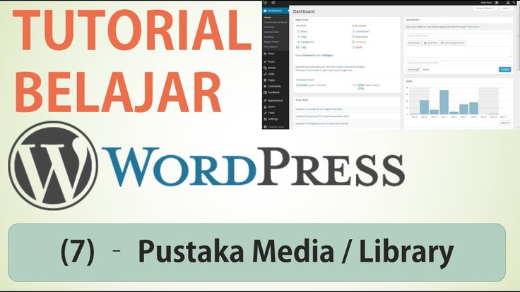 Belajar Wordpress - (7) Pustaka Media / Library