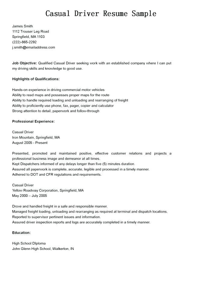 Tow Truck Driver Resume Tow Truck Driver Resumetow Truck Driver Resume Objectivetow Truck Driver Res Driver Job Sample Resume Templates Cover Letter For Resume