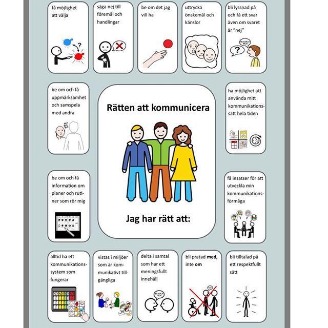 Rätten till kommunikation: Dart har översatt och skapat ett bildstöd om människors rättigheter till kommunikation. (Skapat av amerikanska logopedförbundet och olika intresseföreningar) Dessa rättigheter tas bl.a. upp i barnkonventionen (som blir lag nästa år) och FN:s konvention för personer med funktionsnedsättning. Tex i Barnkonventionen tar man upp rätten till kommunikation i artiklarna om bl.a. Inflytande, information, lika värde, må bra. FN:s konvention för personer med…