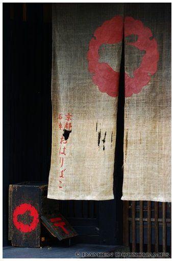 japanese noren. japanese style