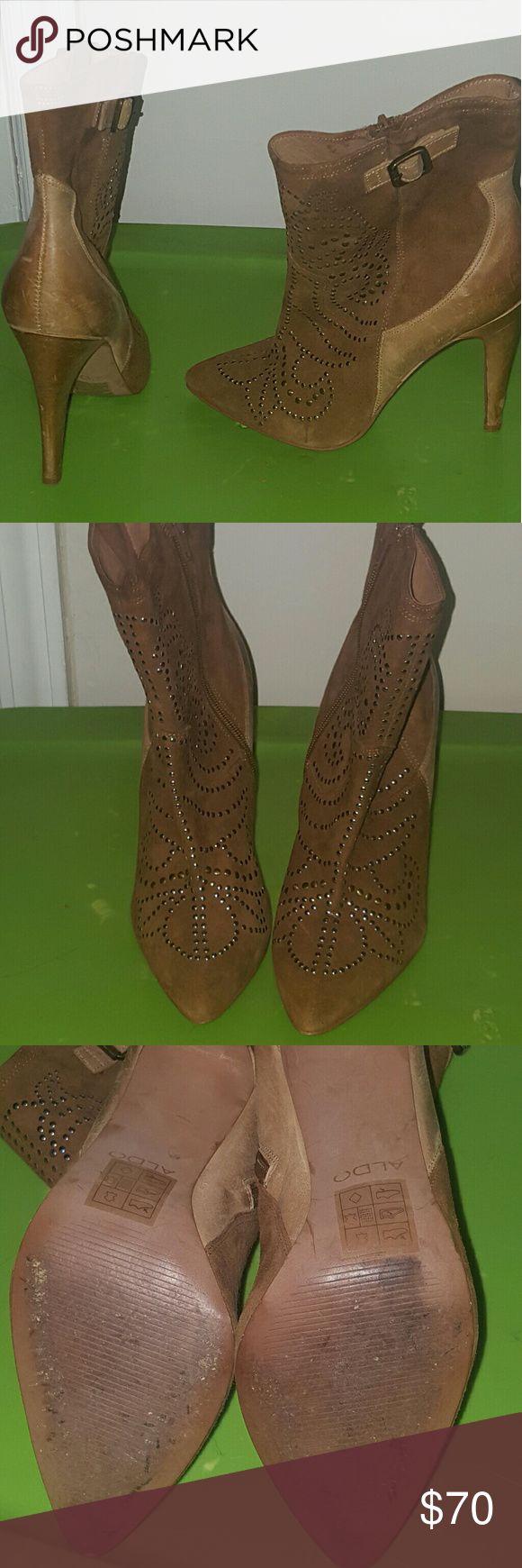 Aldo boots Aldo brown boots size 8.5 Aldo Shoes Ankle Boots & Booties
