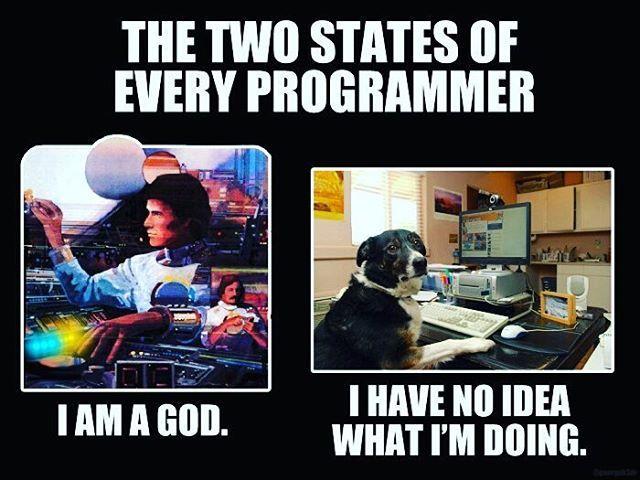 so true everyday programmer programming codingatnight java mysql sql