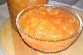 Джем из персиков и нектаринов