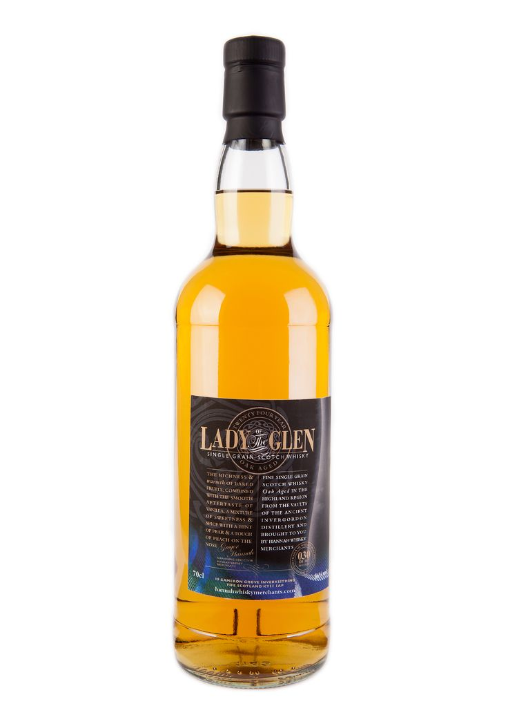 24 Year old Single Grain Invergordon from Lady of the Glen. Now sold out