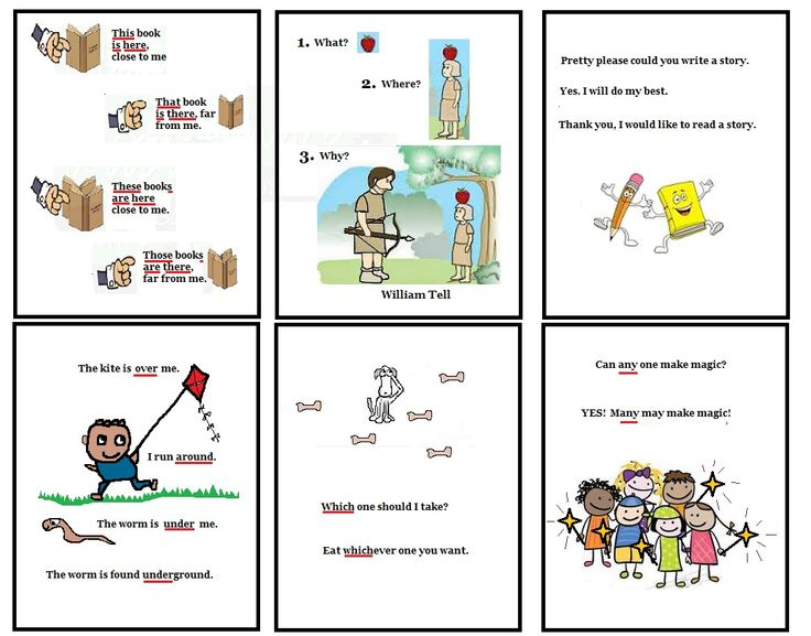 FREE to print - Sentence / phrase cards w sight words ...
