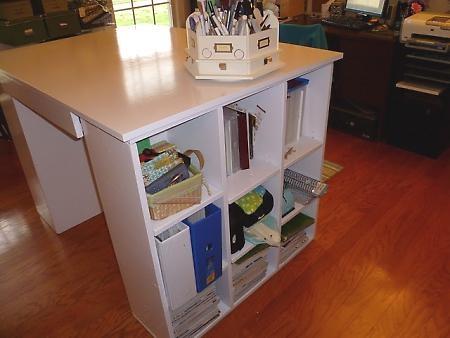 Craft table diy craft pinterest