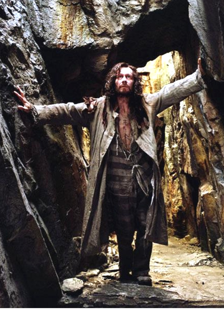 "Gary Oldham as ""Sirius Black"" in ""Harry Potter and the Prisoner of Azkaban"", 2004"
