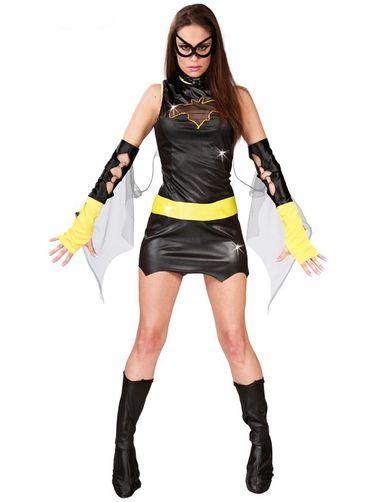 Déguisement d'héroïne Batgirl sexy
