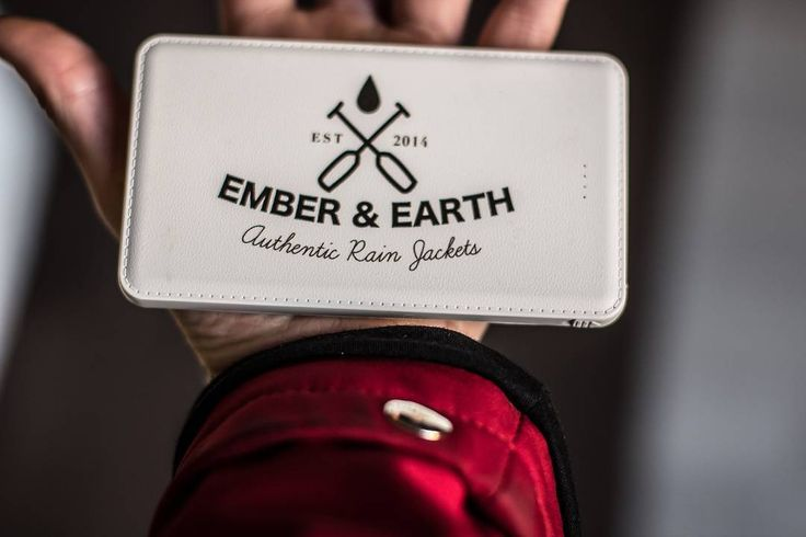Grab an Ember&Earth Powerbank with your rain jacket and stay connected for every adventure! Available in both 10000mAh and 5000mAh get 10% off with discount code: INSTA