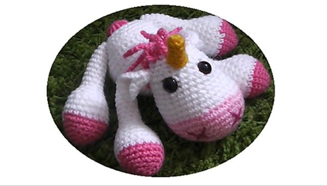 Tutorial Amigurumi Unicorno : 17+ best images about amigurumi on Pinterest Free ...