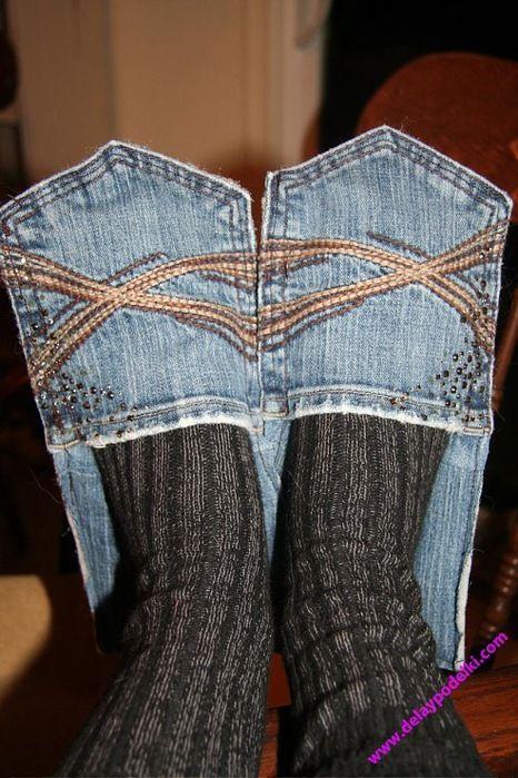 Море идей того, что можно сделать из старых джинсов (фото и видео) | STENA.ee