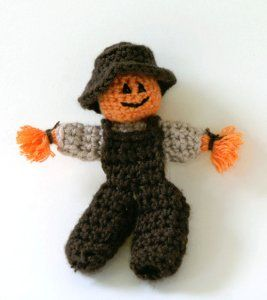 Scarecrow Finger Puppet