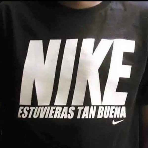 En la ropa de marca.