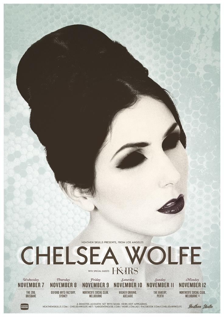 Chelsea Wolfe (USA) @ Northcote Social Club (Nov, 2012)