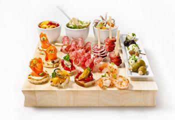 Pour une soirée à thématique espagnole, voici quelques idées de #tapas prêts en 20 minutes! #bouchees #apero