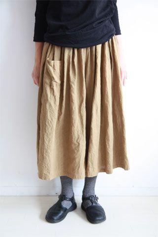 秋のギャザーキュロット#2 : 日々の服