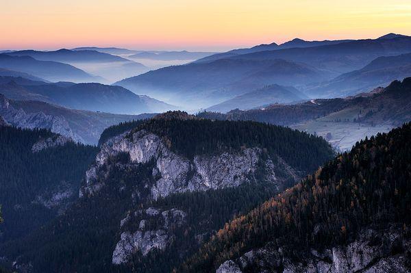 Bicaz Gorges ... Carpathian Mountains, Transylvania Romania ... photo by Cornelia Dörr