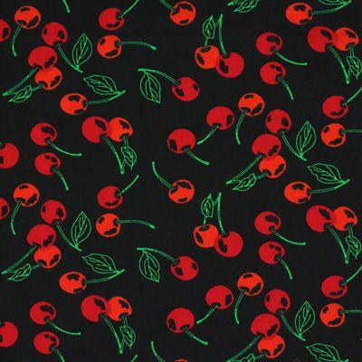 Cotton Cherry Classic 2 - Bawełna - czerń