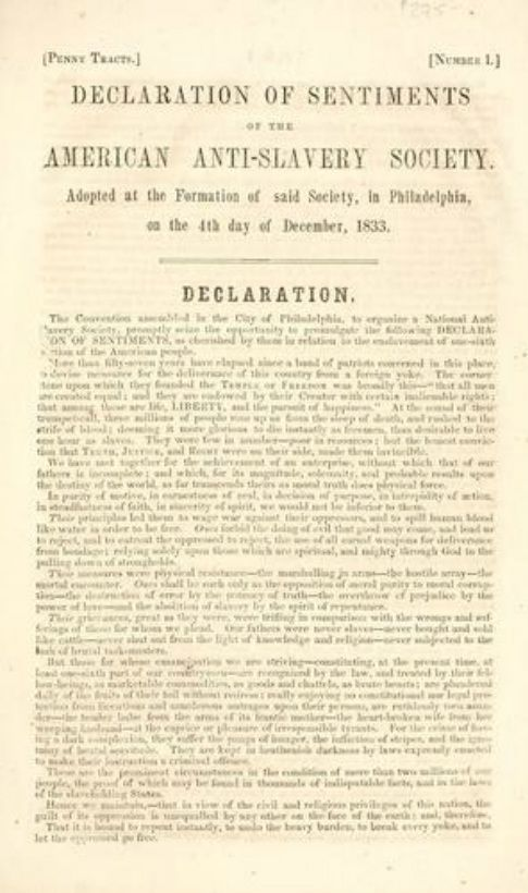 best declaration of sentiments ideas elizabeth the declaration of sentiments was a document signed in 1848 by 68 women and 32 men