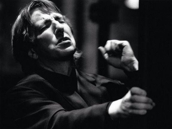 Alan Rickman. 'Hamlet' Riverside theatre, Nottingham, 1992