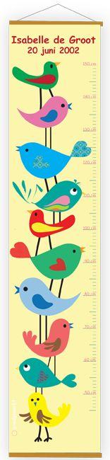 groeimeter | groei meter | lengte baby | lengte kind | growth chart - Goedgemerkt