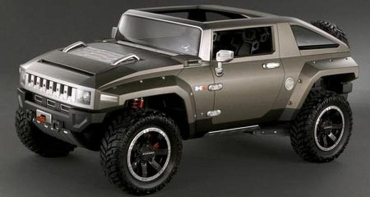 Hummer HX Concept – Completely Different