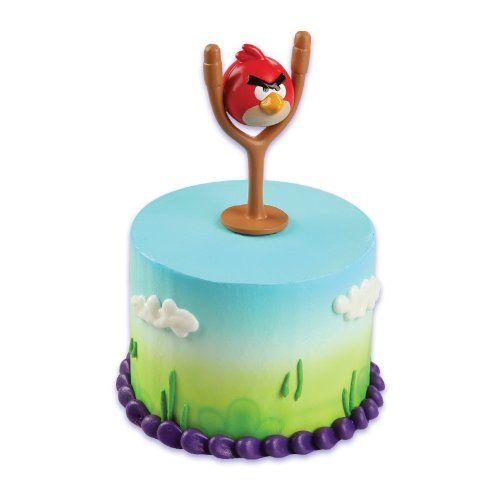 21 best images about angry birds on pinterest crafts for Angry birds cake decoration kit