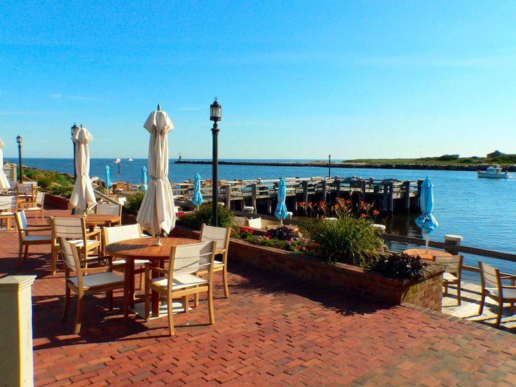 gosman 39 s dock restaurant topside inlet cafe calm