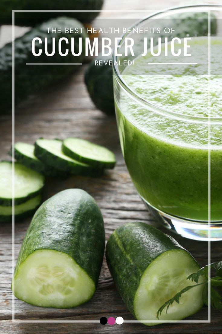 Uncovering the best benefits of cucumber juice right here!