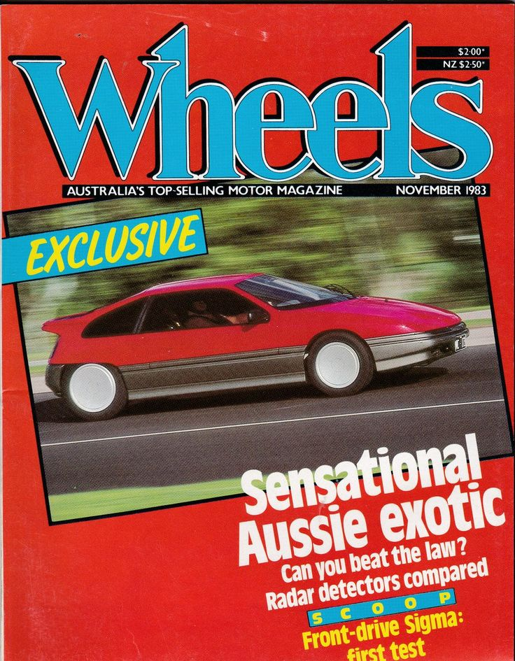 Husband Gift November 1983 Vintage Australian Wheels Magazine Birthday or Christmas Idea for Him by SuesUpcyclednVintage on Etsy