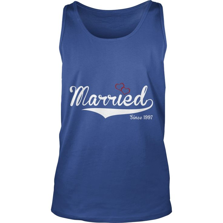 married since 1997 happy marriage present - Mens Premium T-Shirt  #gift #ideas #Popular #Everything #Videos #Shop #Animals #pets #Architecture #Art #Cars #motorcycles #Celebrities #DIY #crafts #Design #Education #Entertainment #Food #drink #Gardening #Geek #Hair #beauty #Health #fitness #History #Holidays #events #Home decor #Humor #Illustrations #posters #Kids #parenting #Men #Outdoors #Photography #Products #Quotes #Science #nature #Sports #Tattoos #Technology #Travel #Weddings #Women