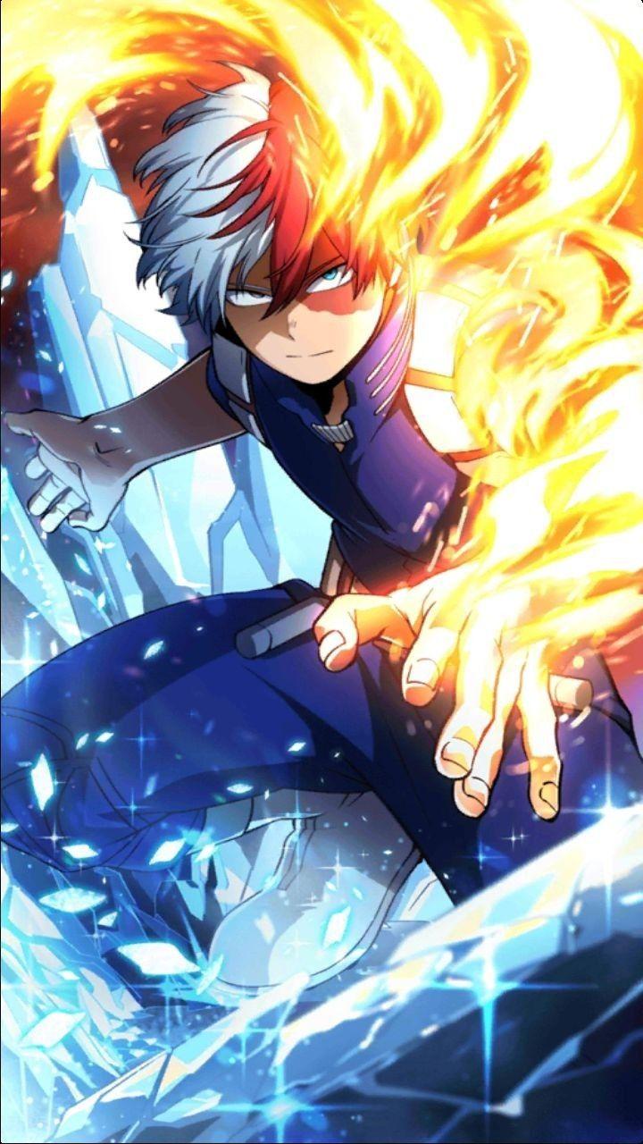 Shoto Shoto Todoroki Quirk Half Cold Half Warm Hero Wallpaper Hero My Hero Academia Episodes