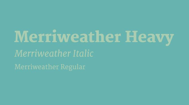 merriweather-combinacion-google-font