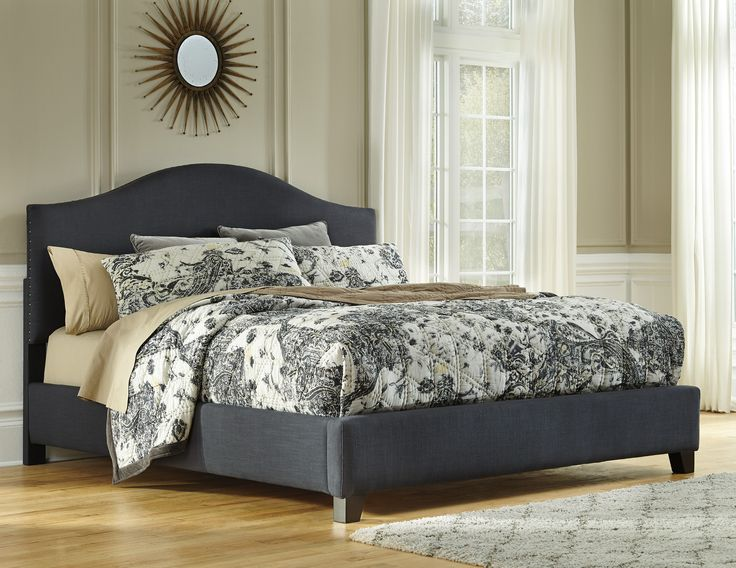 kasidon queen upholstered bed by signature design by ashley get your kasidon queen upholstered bed at furnish 123 moline davenport ia furniture store