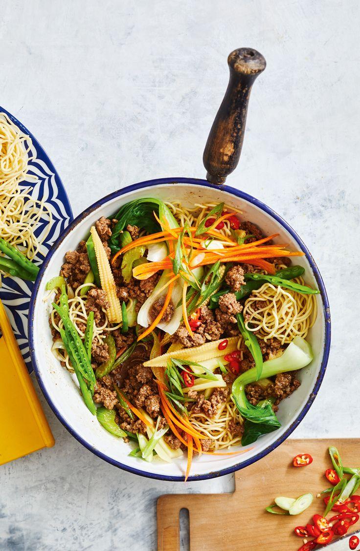 Healthier Beef Chow Mein Recipe Beef Chow Mein Chow Mein Healthy