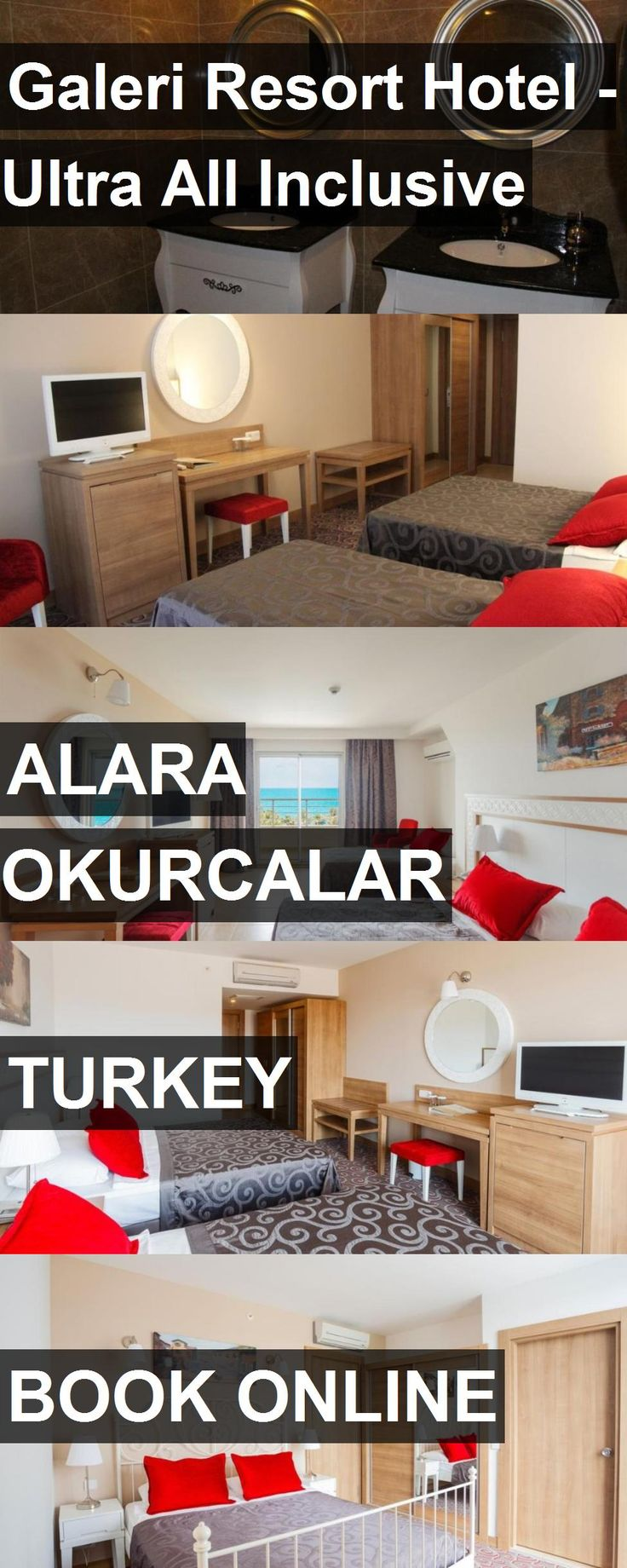 Hotel Galeri Resort Hotel - Ultra All Inclusive in Alara Okurcalar, Turkey. For more information, photos, reviews and best prices please follow the link. #Turkey #AlaraOkurcalar #GaleriResortHotel-UltraAllInclusive #hotel #travel #vacation