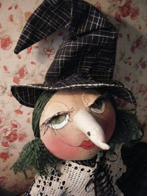 IsabellasCloset: ~My round head Witch doll pattern~