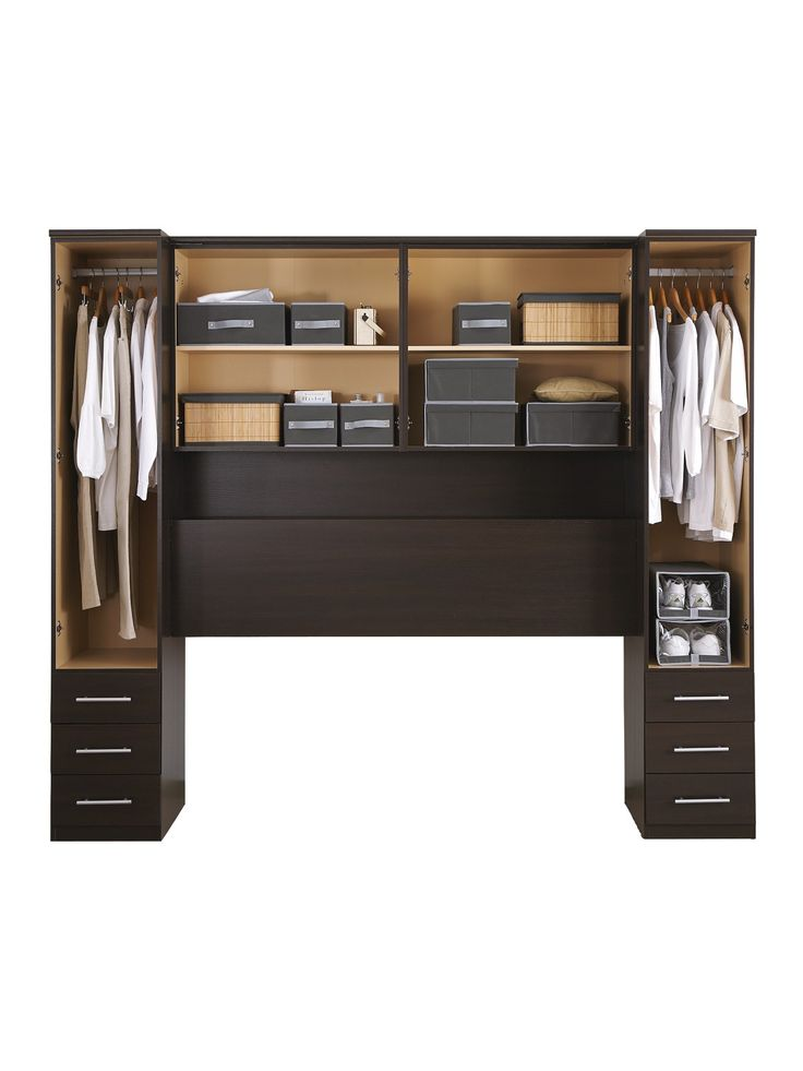 New prague over bed storage unit dyi ideas for Storage above bed ideas
