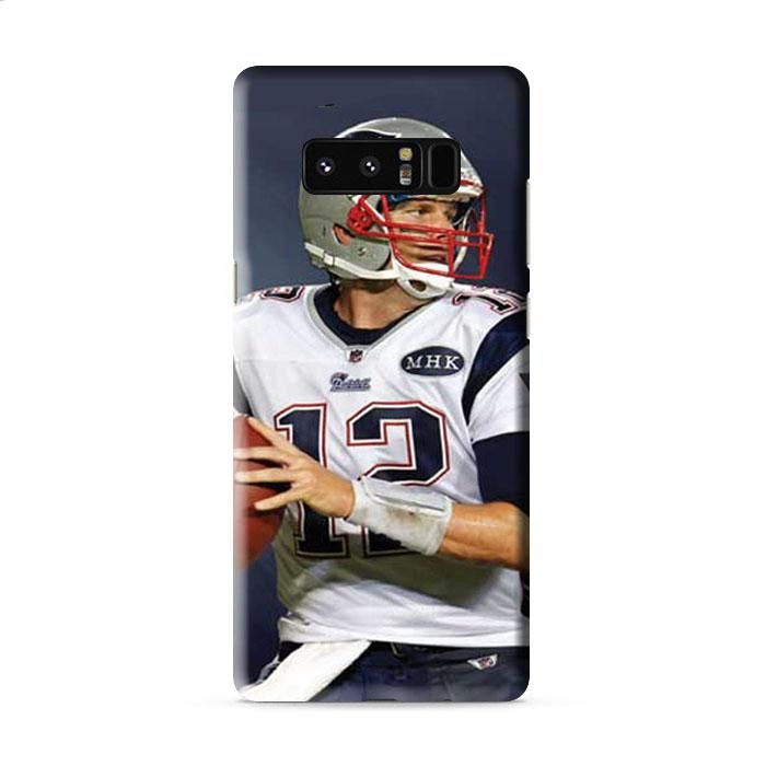 Tom Brady wallpaper no tag Samsung Galaxy Note 8 3D Case Caseperson