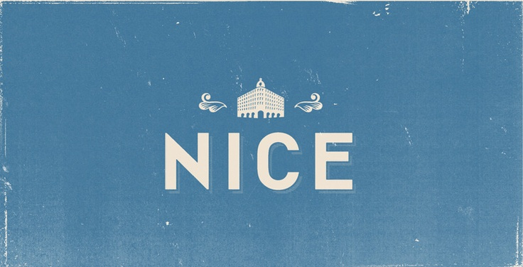nice, typography
