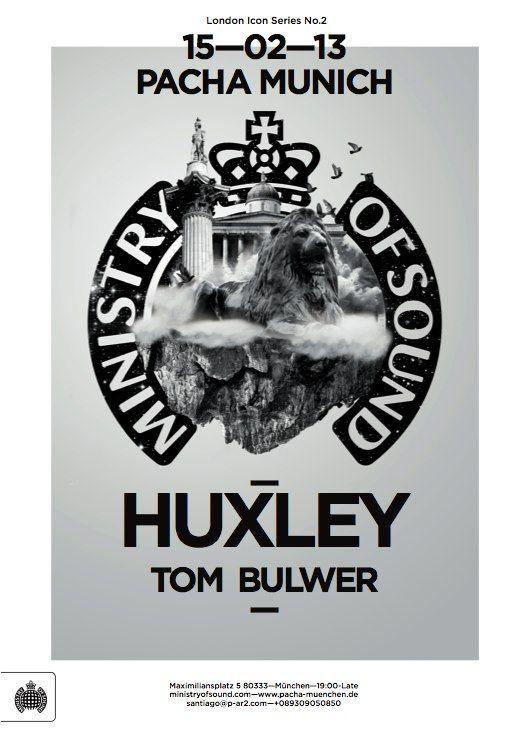 Huxley tour Pacha Munich