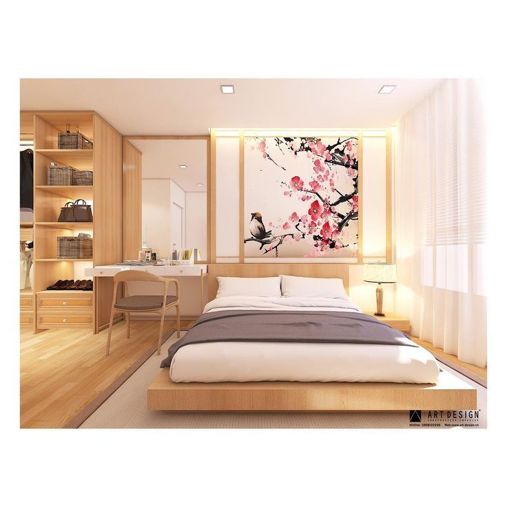 6 Creative Tips On How To Make A Small Bedroom Look Larger Dream Bedrooms Japanese Style Bedroom Japanese Inspired Bedroom Japanese Bedroom