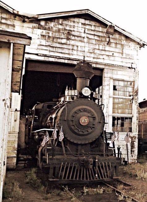 Old Locomotive - Fort Bragg, CA