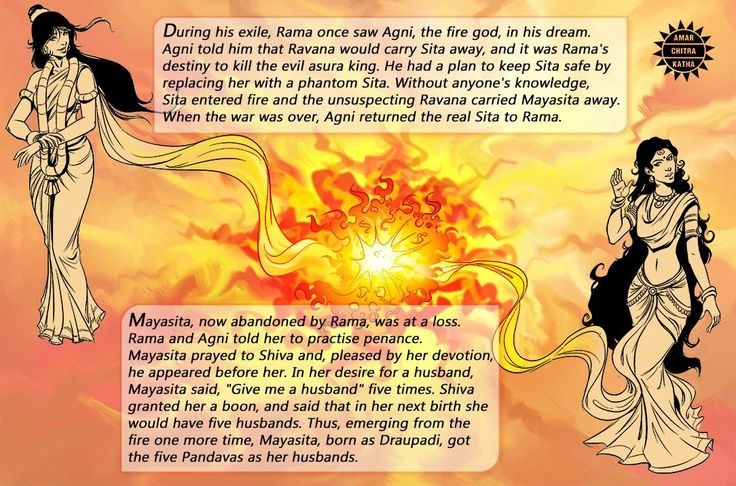 We come across several interesting stories during our research. Here is one from the Devi Bhagavata.